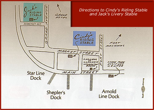 Directions to Cindy's Riding Stable
